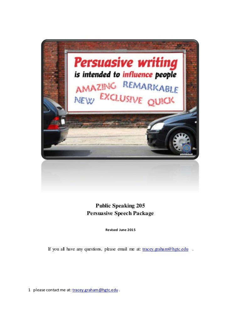 Buy persuasive speech on line