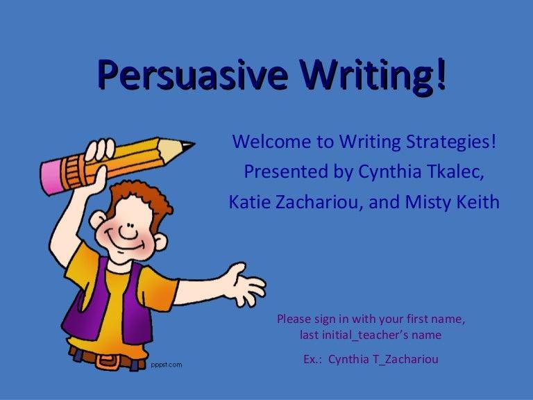 essay writing powerpoint presentation