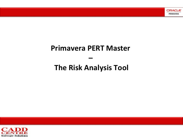 pert master risk analysis tool rh slideshare net
