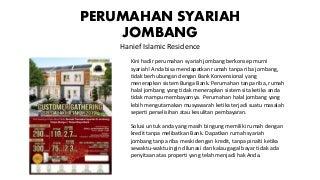 Rumah Syariah Cicilan 3 Juta di Jombang, Hub 0813 1199 8489 (WA-Call)