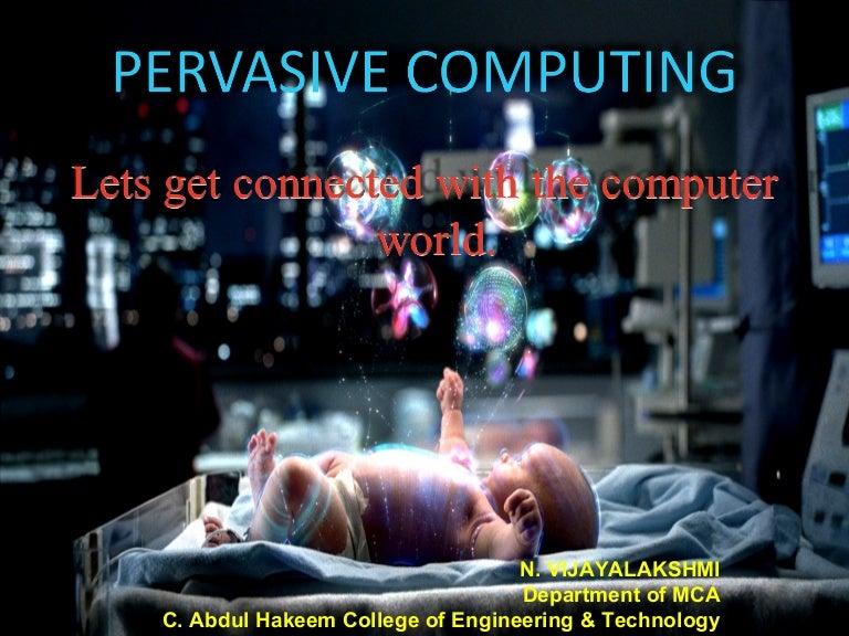 Defining ubiquitous computing vs. Augmented reality parc.