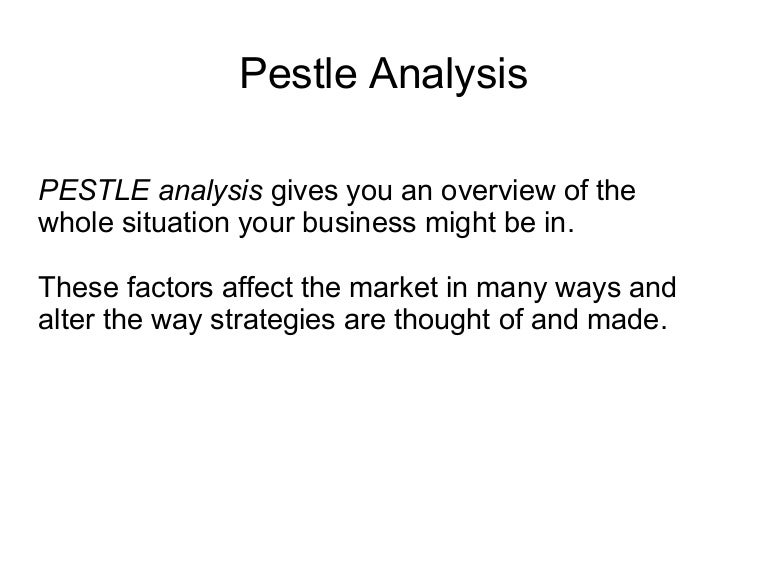 malaysia pestle According to pest analysis conducted should sha set-up operations in malaysia in 2012 state your assumptions clearly ans: sha should set-up its operations in malaysia, according to the pest analysis which covers all the political, social, economic, and technological factors for a firm to be successful.