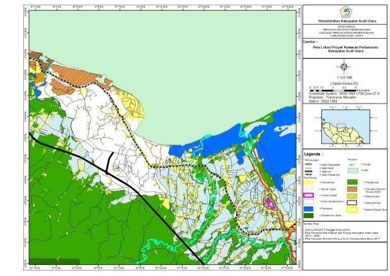 Peta Aceh Utara