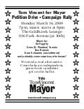 Petition Event Flier Tom Vincent