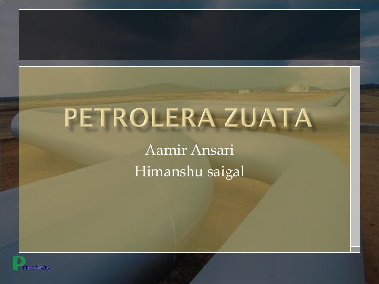 petrozuata case study project finance