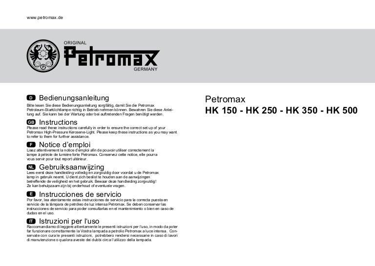 + joint pièces de rechange 153 Petromax carburateur corps HK 350-500 90