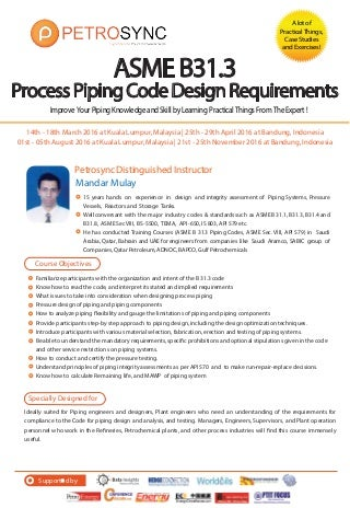 petrosync asme b313 process piping code design requirements