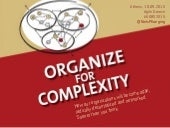 Organize for Complexity - Keynote by Niels Pflaeging at Agile Greece (Athens/GR)