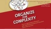 Organize for Complexity - Keynote by Niels Pflaeging at Stretch Leadership & Management Conference (Budapest/HU)
