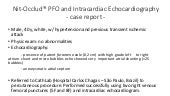 Patent Foramen Ovale and Intracardiac Echocardiography