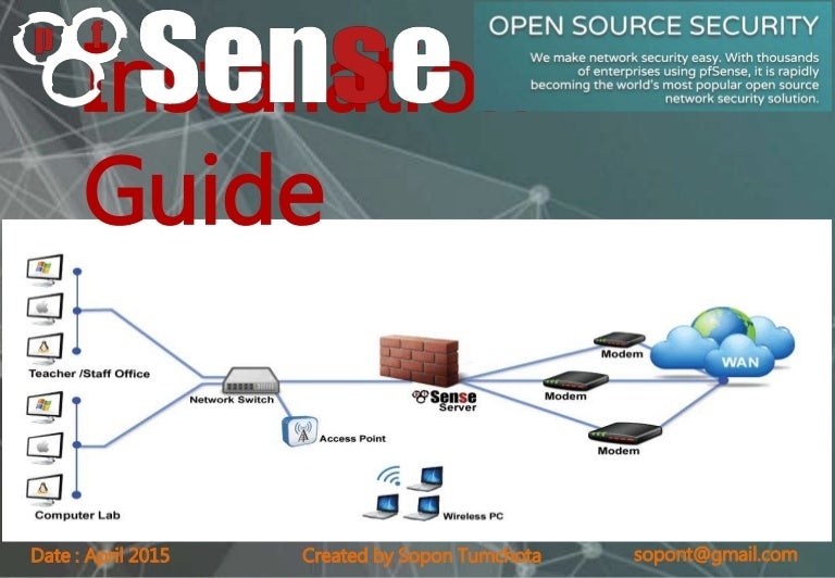 pfsense installation slide