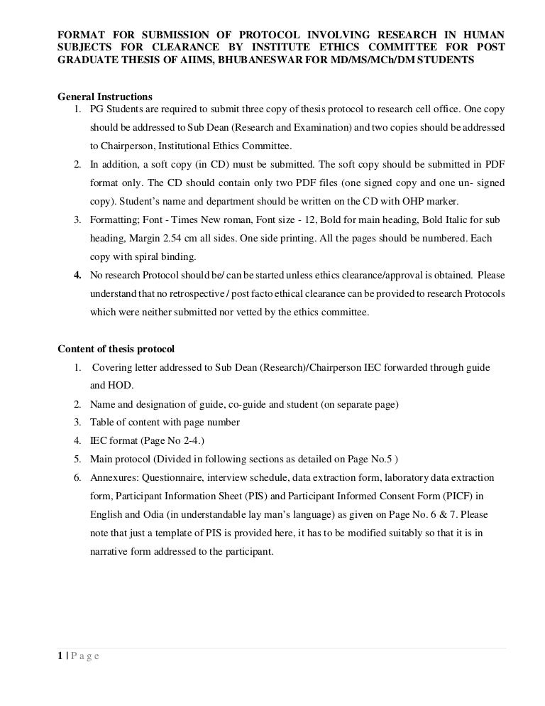 Dissertation committee ethics