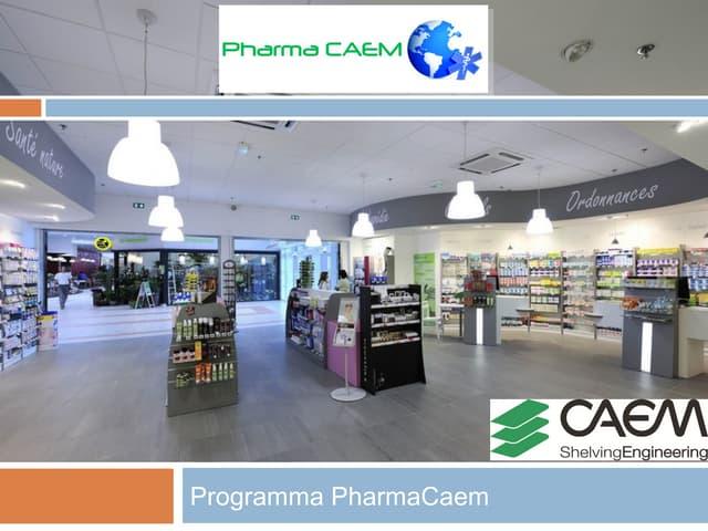 PharmaCaem - il programma di arredamento per Farmacie