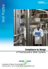 Pharmaceutical Water Instrumentation Guide