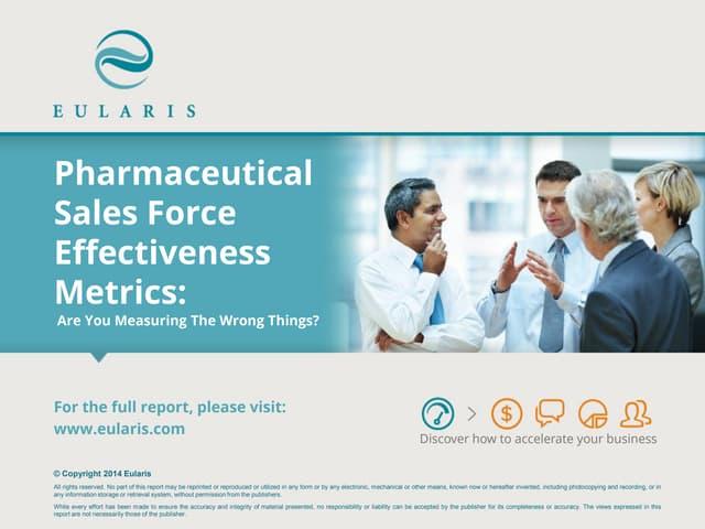 Pharmaceuticals Sales Force Effectiveness