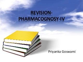 Pharmacognosy Simplified