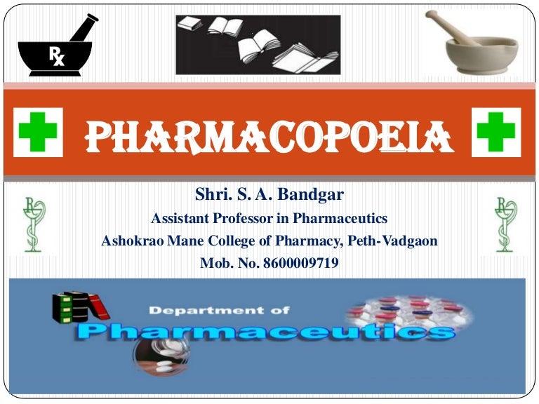 Us Pharmacopeia Pdf