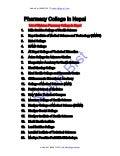 Emergency Drugs List of Nepal