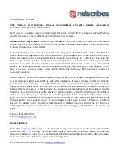 Market Research Report : Pharmacy retail market in india 2015 - Press release