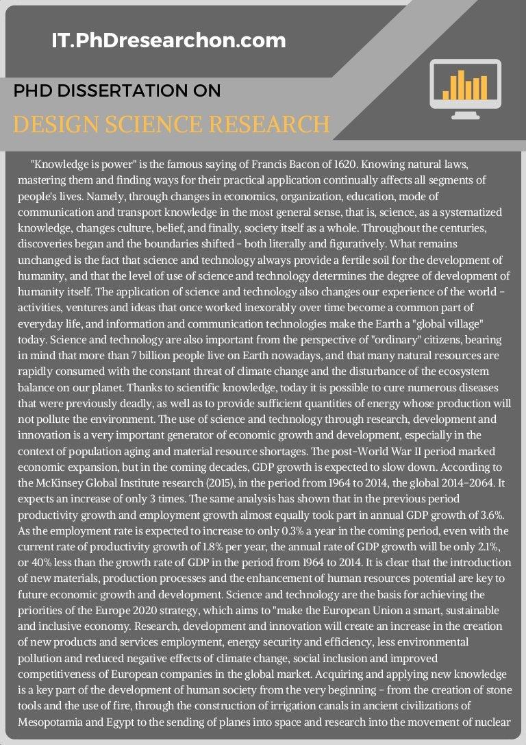 Step 2: Research design for your dissertation | Lærd Dissertation