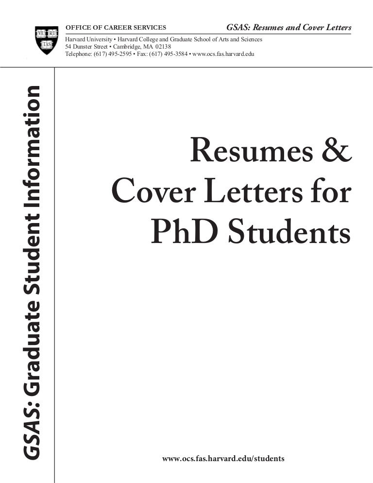 How to write an application letter for a phd