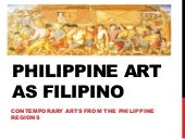 Philippine Art as Filipino
