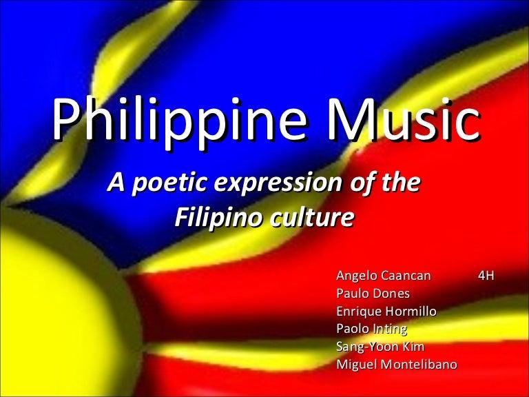 Philippine music