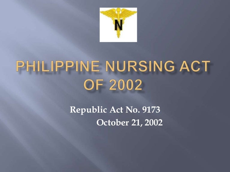philippine nursing laws affecting confidentiality Read this essay on nursing laws in the philippines come browse our large digital warehouse of free sample my report is about the current trends in nursing laws and i have made a comparative analysis of for confidentiality purposes, have been changed in accordance to the nmc guidelines.