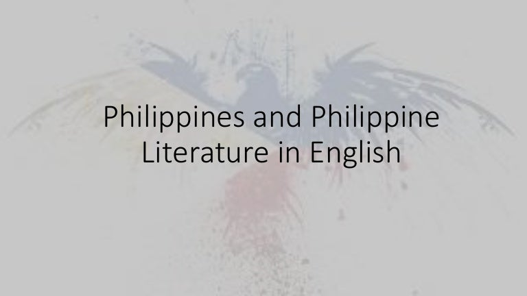 philippine lit essay Your philippine lit virtual classroom lumbera, bienvenido and lumbera, cynthia philippine literature: a history and anthology.
