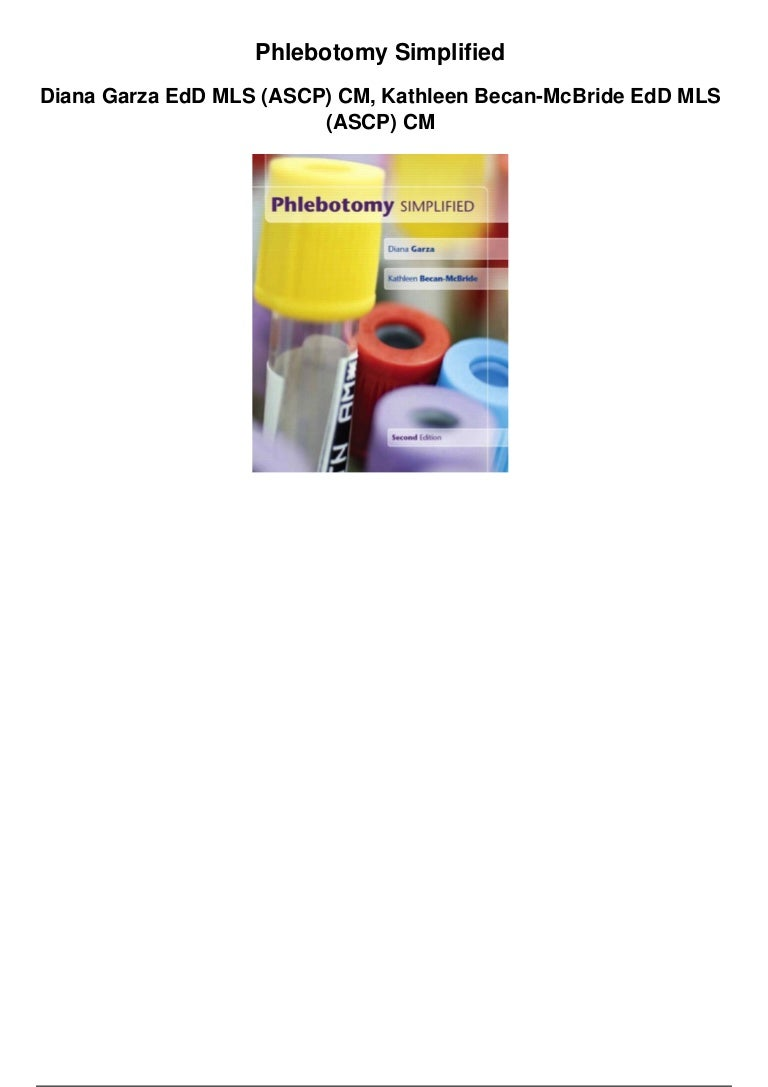 Phlebotomy simplified pdf 1betcityfo Images