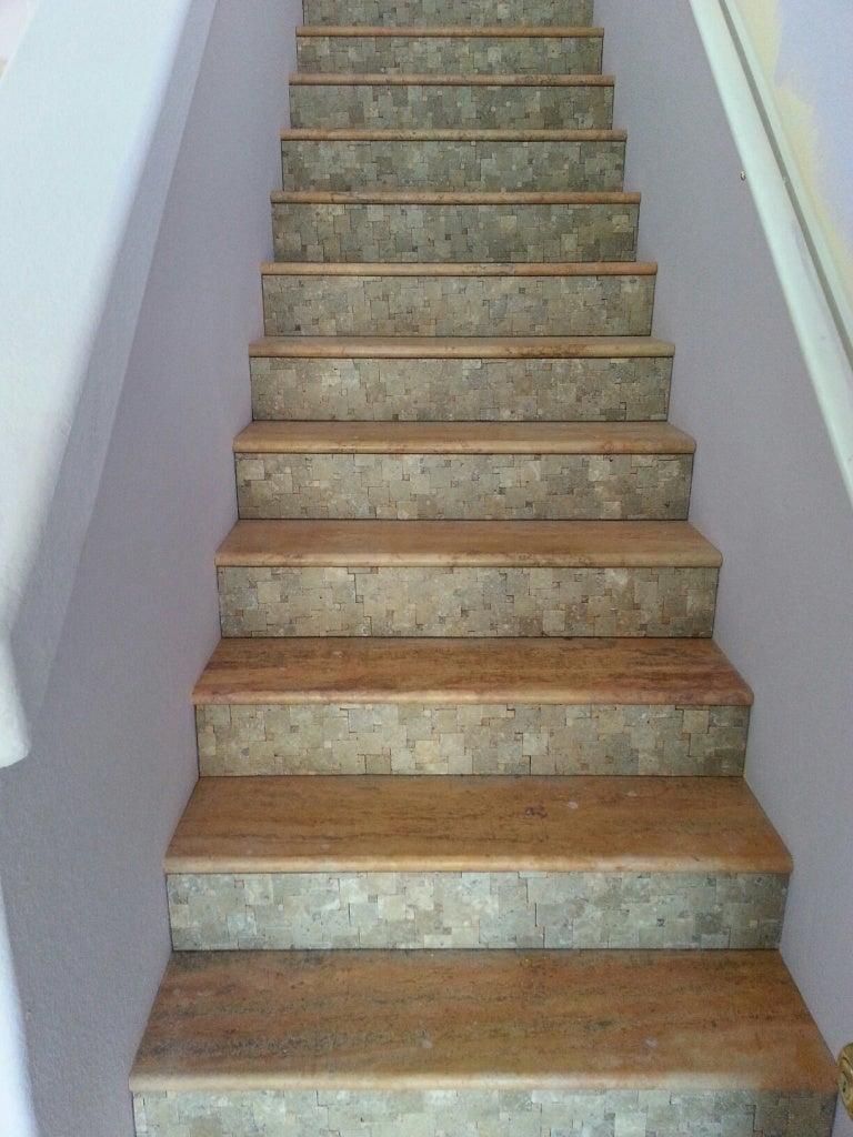 Stair Riser Ideas Wood