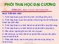 Phoi thai dai cuong