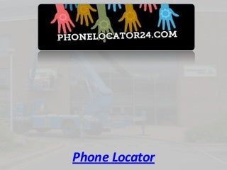 Phone Locator