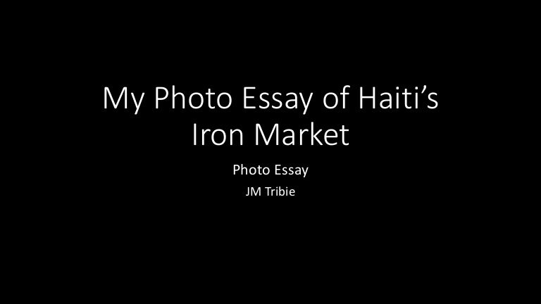 photo essay of s iron market