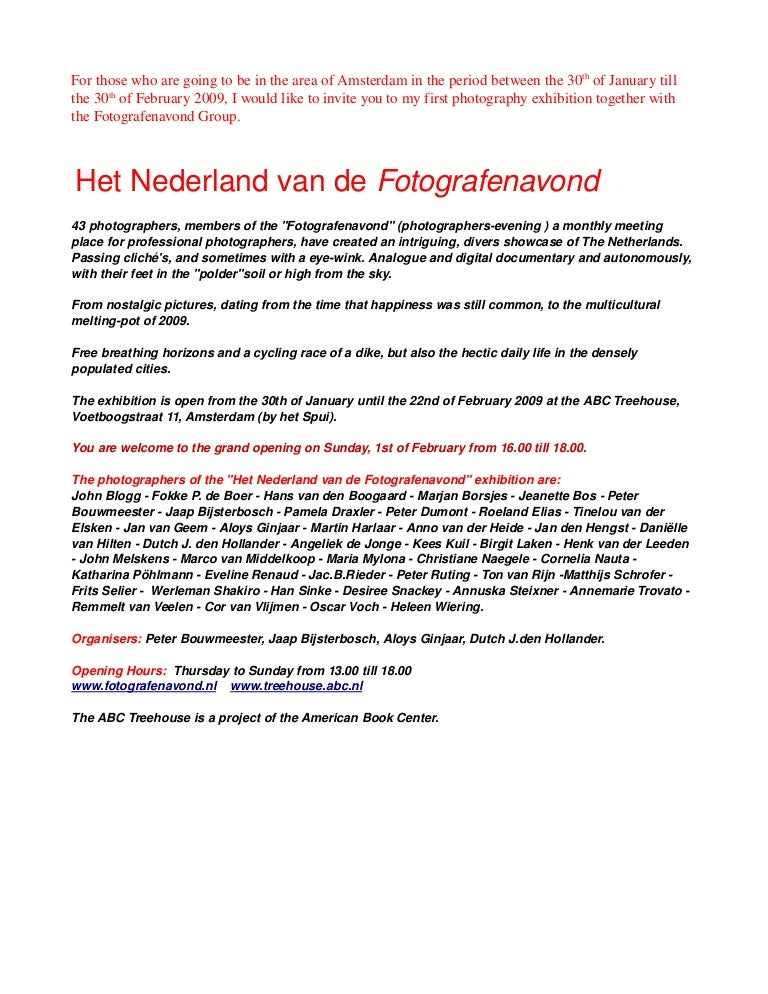 Photography exhibition invitation stopboris Choice Image