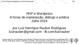PHP e WordPress