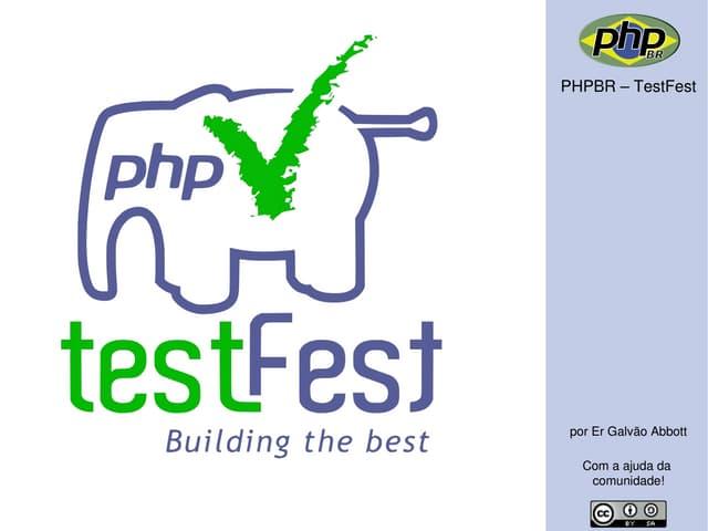 PHPBR TestFest