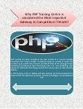 Php training courses in kolkata