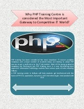 Php training courses in kolkata