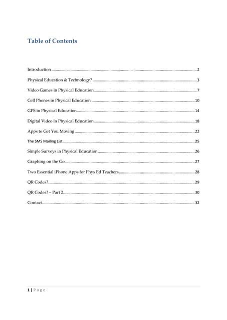 Phys Ed Geek eBook