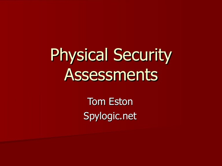 PhysicalSecurityAssessments ThumbnailJpgCb