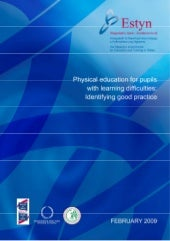 Physical education for pupils with learning difficulties: Identifying good practice