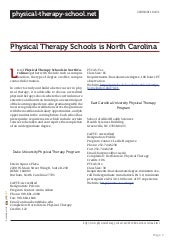 Accredited Physical Therapy Assistant Schools Online