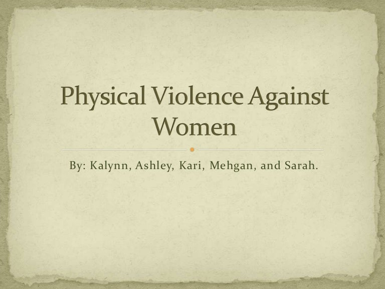 violence against women epidemic health problem essay Violence against women a global health problem of epidemic proportions | london school of.