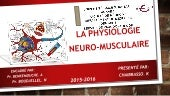 Physiologie neuromusculaire