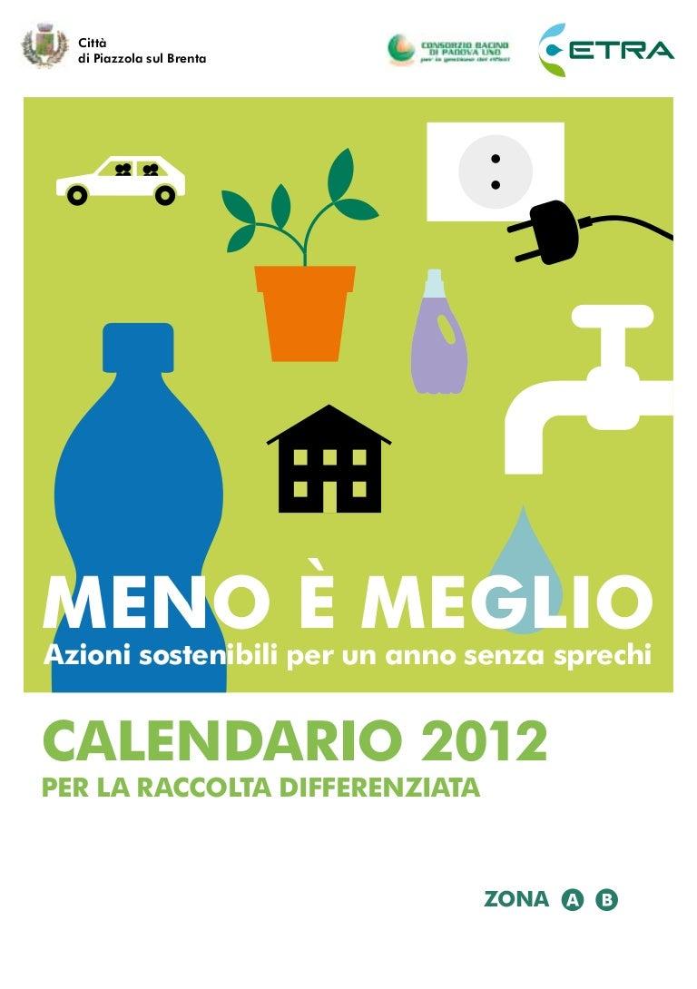 Piscina Piazzola Sul Brenta calendario etra 2012 - piazzola sul brenta