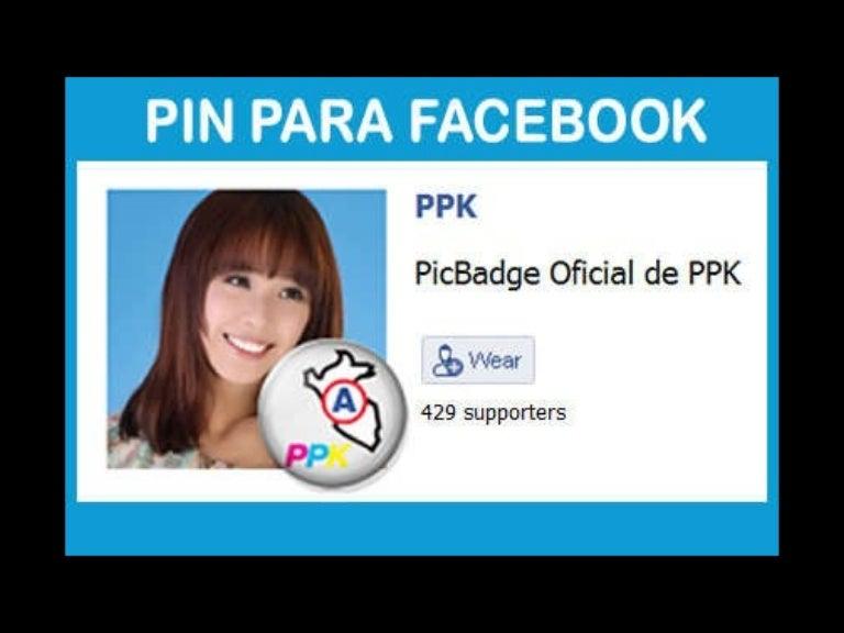 Pin en Facebook