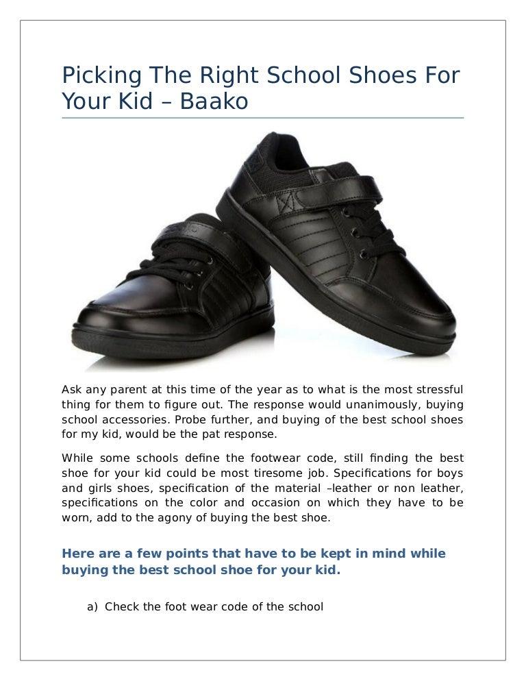 School Shoes For Your Kid – Baako