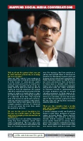 The Influence of Analytics, Germin8 way - Ranjit Nair interviewed by the Pickle Magazine