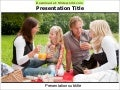 Picnic powerpoint template